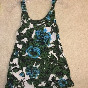 OLD NAVY Sleeveless Floral Top